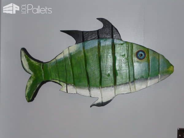 Wall Art Pallet Wood Fish Pallet Wall Decor & Pallet Painting