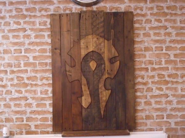 World Of Warcraft Pallet Wall Art Pallet Wall Decor & Pallet Painting