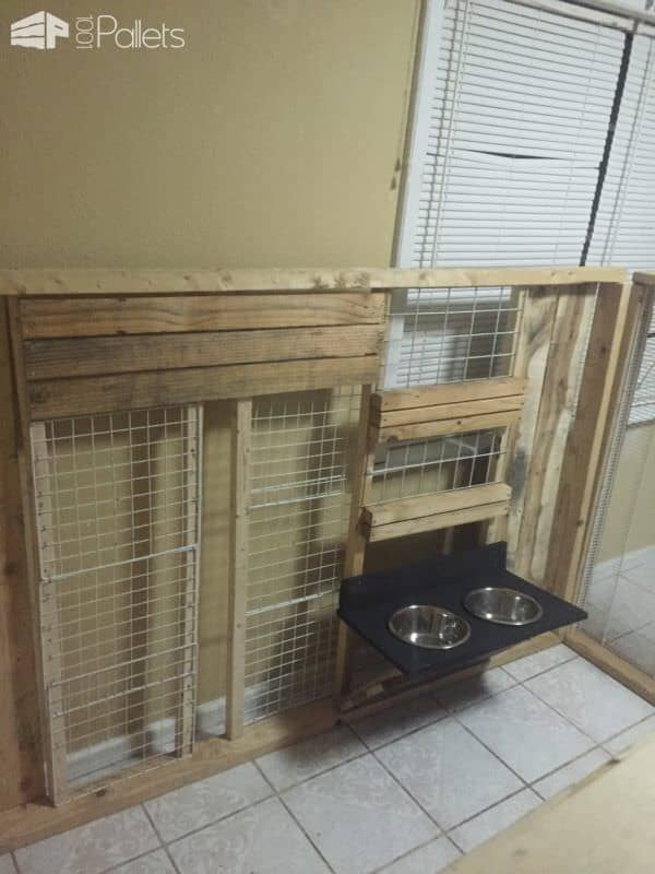 Custom Made Collapsible Dog Kennels Animal Pallet Houses & Pallet Supplies