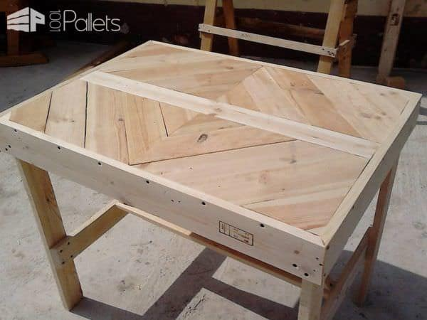 Multi-Purpose Pallet Table 2