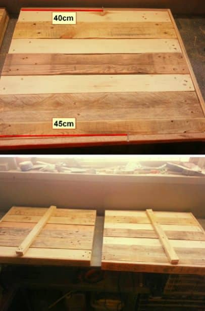 Diy Step-by-step Tutorial: Pallet Garden Chair DIY Pallet Tutorials Pallet Benches, Pallet Chairs & Stools