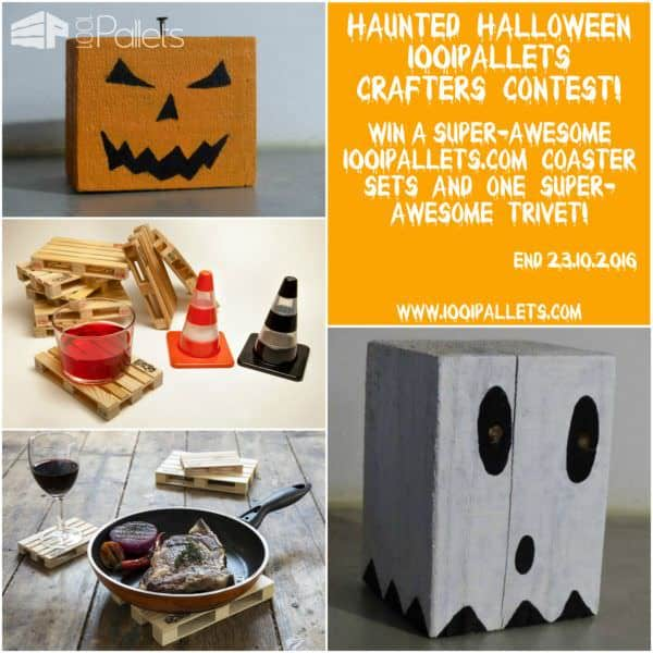 Haunted Halloween 1001pallets Crafters Contest!
