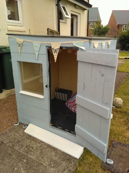 Labor-of-love Pallet Wood Playhouse