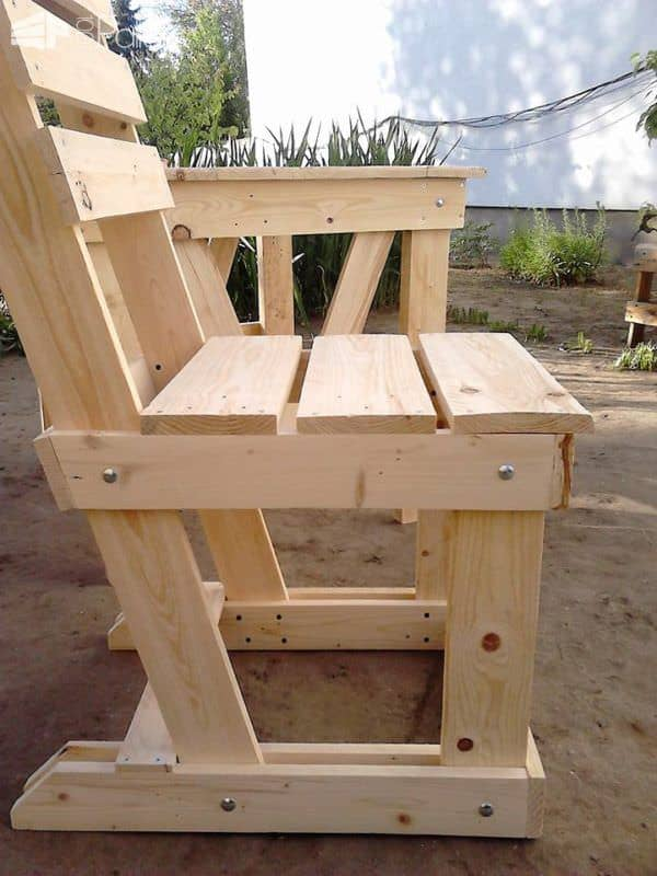 Lovely Pallet Wood Garden Dining Set Pallet Benches, Pallet Chairs & Stools Pallet Desks & Pallet Tables