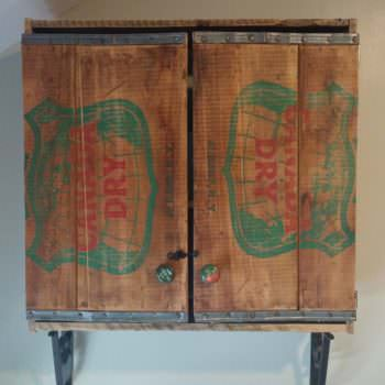 Oh-canada-dry Pallet Bathroom Cabinet