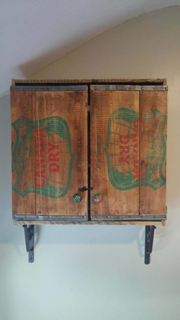 Oh-canada-dry Pallet Bathroom Cabinet Pallet Cabinets & Pallet Wardrobes