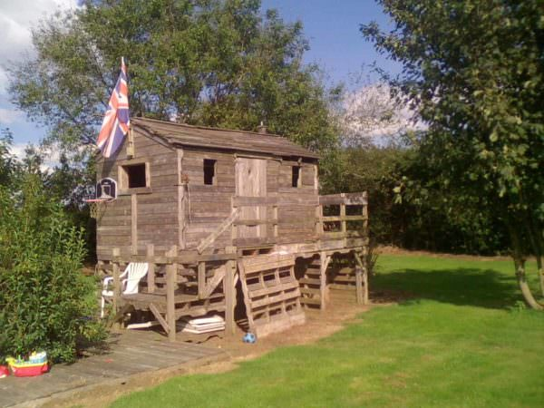 Pallet Playhouse Cabin Pallet Sheds, Cabins, Huts & Playhouses