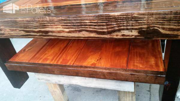 Philly Eagles Fan Pallet Coffee Table 2