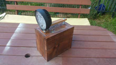 Rechargeable Battery Pack/Spotlight From Pallets