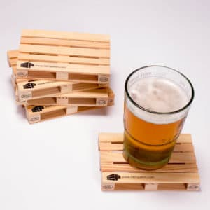 Subscribe & Win a Pallet Coasters Set or a Trivet Over