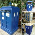 The Pallet Tardis Firewood Box