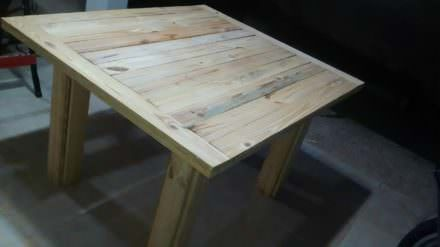 Beautiful Sturdy-legged Pallet Coffee Table