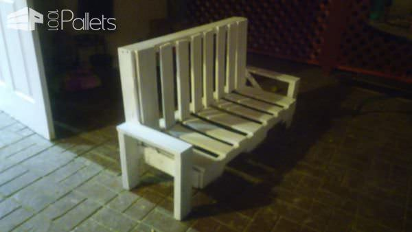 Budget-friendly Easy Playhouse Bench Pallet Benches, Pallet Chairs & Stools