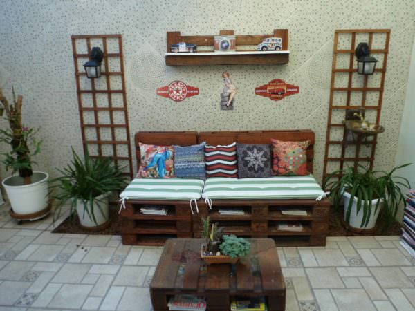Easy Solarium Pallet Lounge Set3