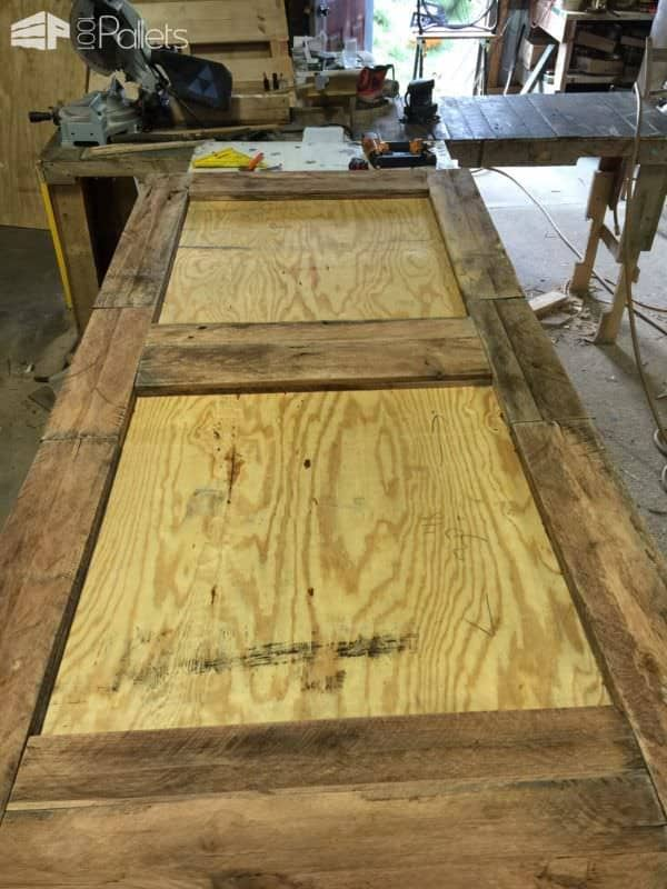Prodigious Pallet Barn Door Set4