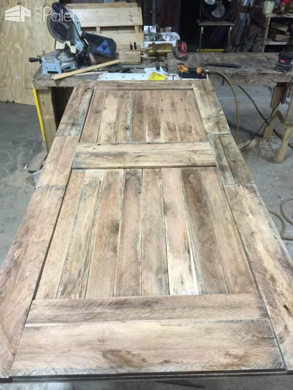 Prodigious Pallet Barn Door Set6
