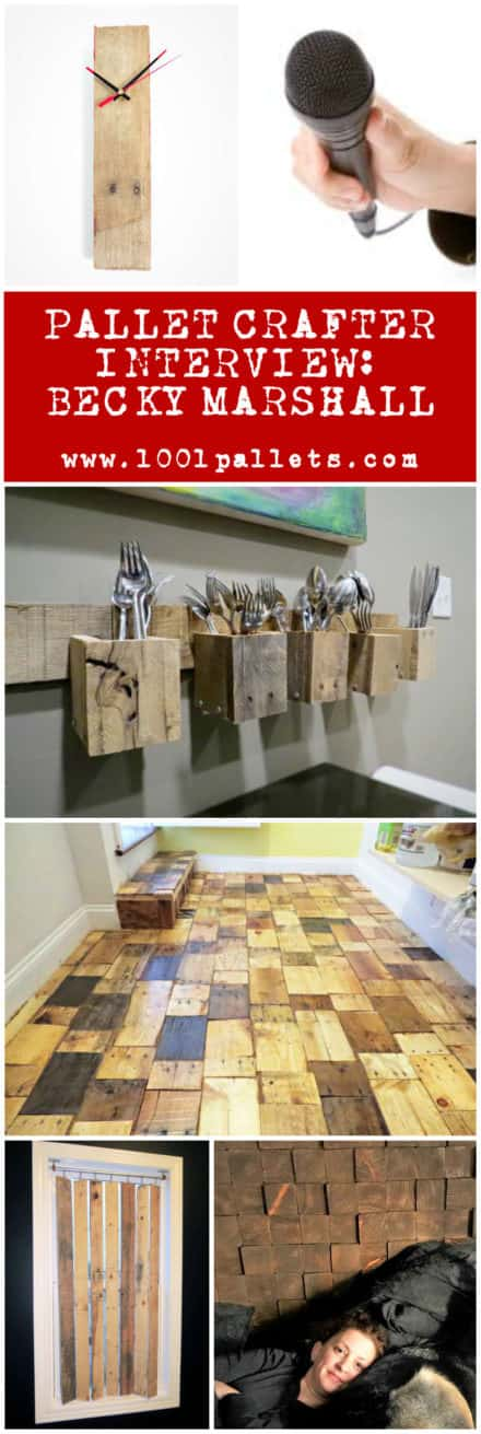 Pallet Crafter Interview #14: Becky Marshall From Flipping The Flip