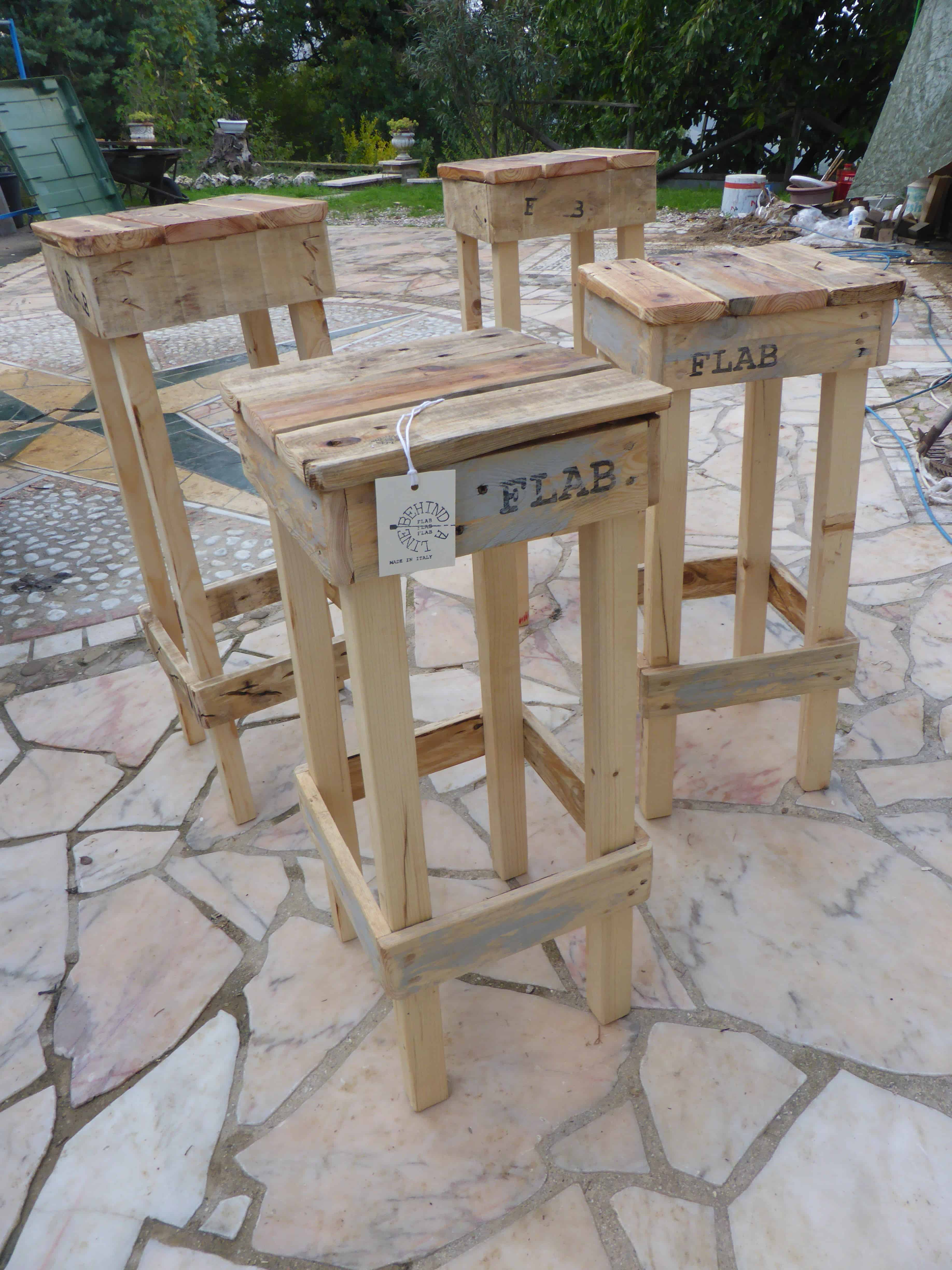 Pallet Benches, Pallet Chairs & Stools • DIY Wood Pallet Projects ...