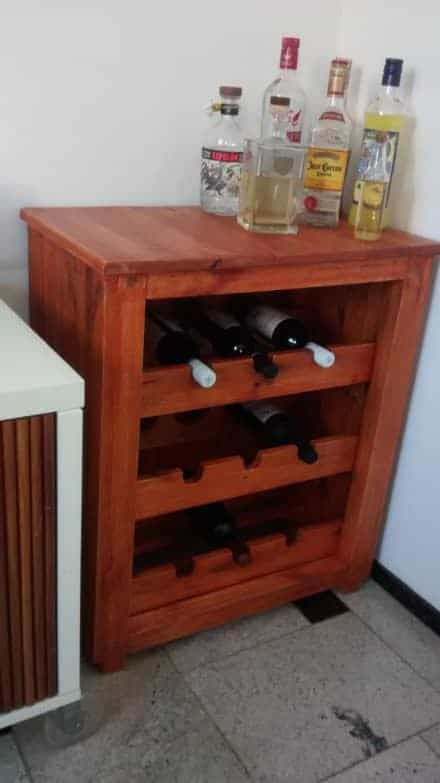 Stunning Elegant Pallet 3-shelf Wine Rack