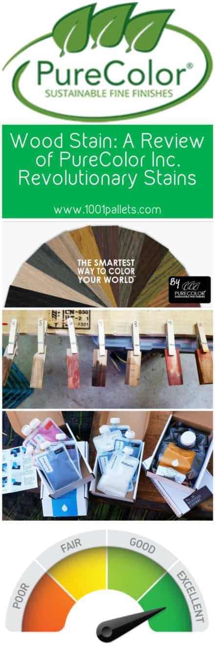 Wood Stain: A Review of Purecolor Inc. Revolutionary Stains