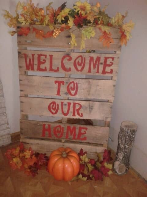 15 Terrific Pallet Thanksgiving Craft Ideas Fun Pallet Crafts for Kids Pallet Home Accessories