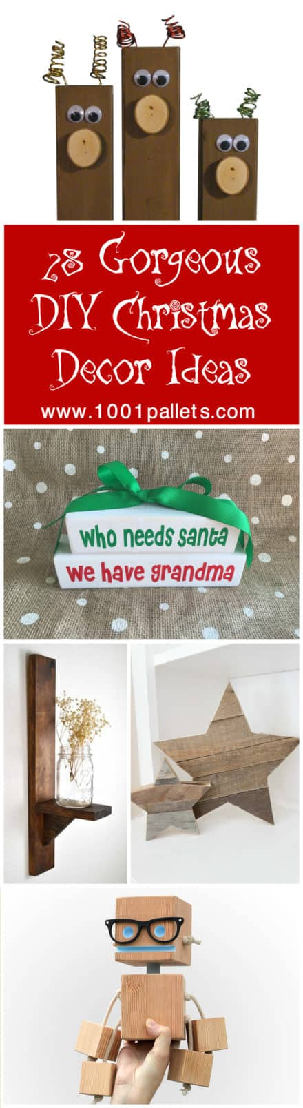 28 Gorgeous DIY Christmas Décor Ideas