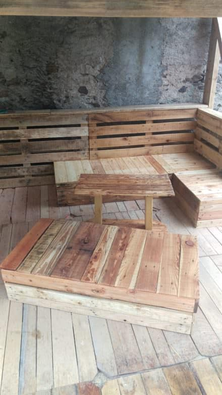 Absolutely Amazing Complete Pallet Terrace Set