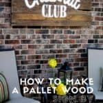 How To Make A Pallet Wood Sign?
