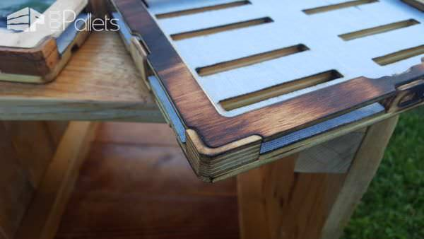 Laser-cut Recycled Pallet Tablet Case Other Pallet Projects