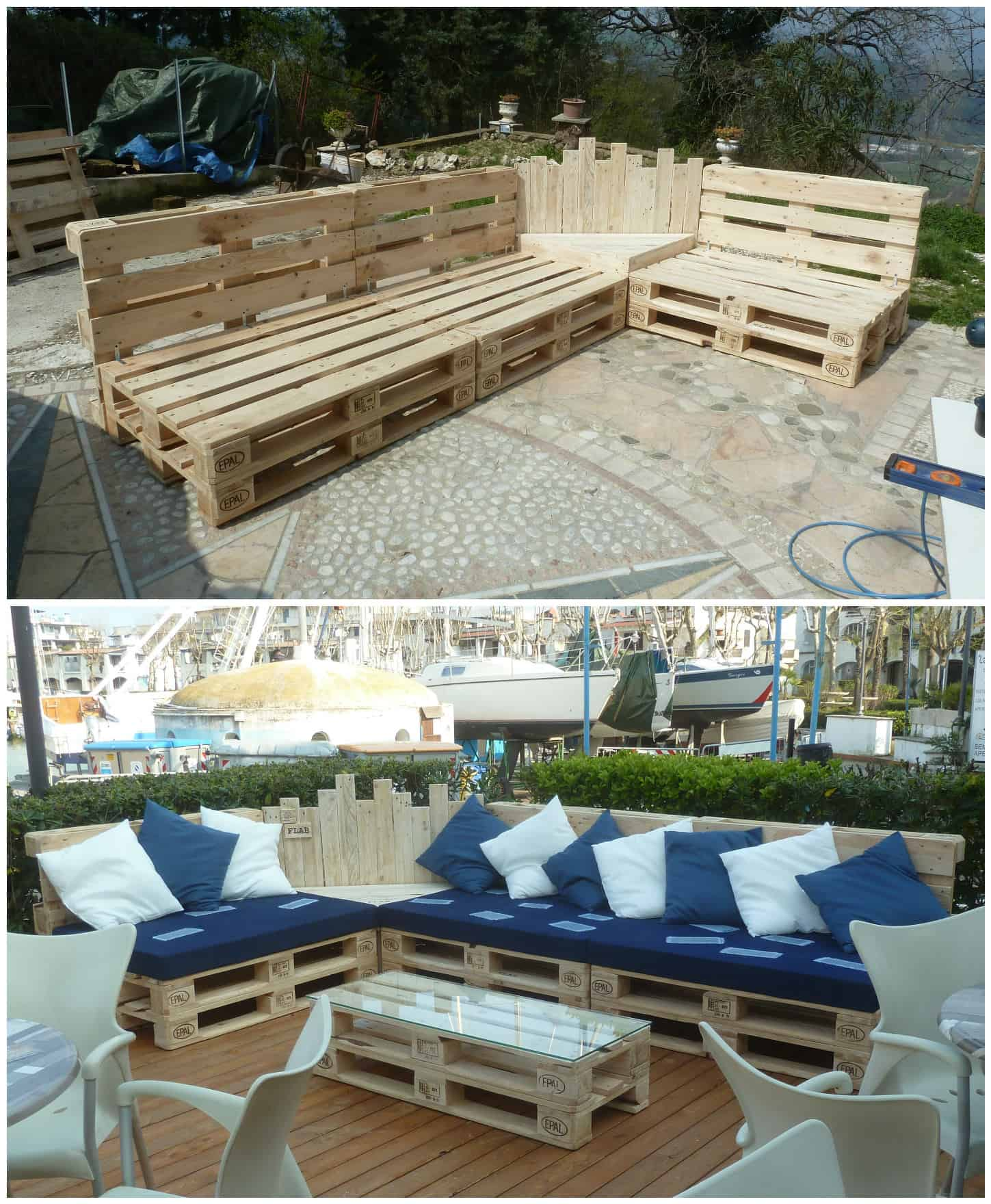 DIY Pallet Couches & Outdoor Pallet Furniture • 1001 Pallets