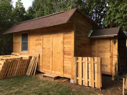 Outstanding 14×20-foot Shed Woodshop
