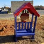 Precious Little Apple Barn Kid's Pallet Bench