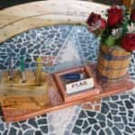 Upcycled Pallet Office Supplies Caddy