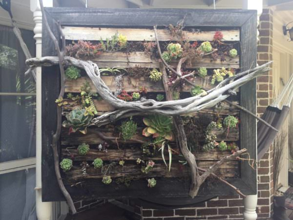 Vertical Pallet Gardens Made Stronger; Lasts Longer! Pallet Planters & Compost Bins