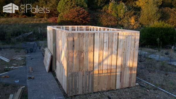 Wow Extra-large Pallet Storage Shed Pallet Sheds, Pallet Cabins, Pallet Huts & Pallet Playhouses