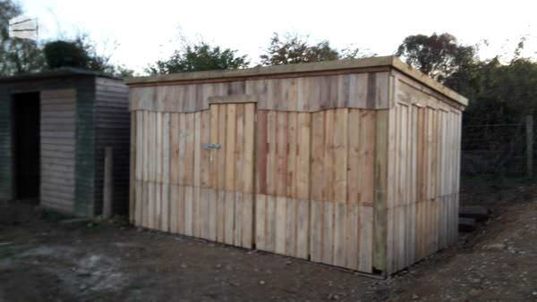 1001pallets.com-Extra-Large Pallet Storage Shed1