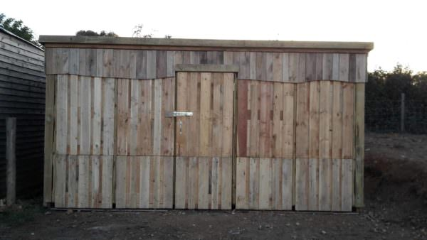 Wow Extra-large Pallet Storage Shed Pallet Sheds, Cabins, Huts & Playhouses