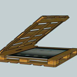 Contest! Win a Modular Pallet Tablet Case by Ipallet4.me