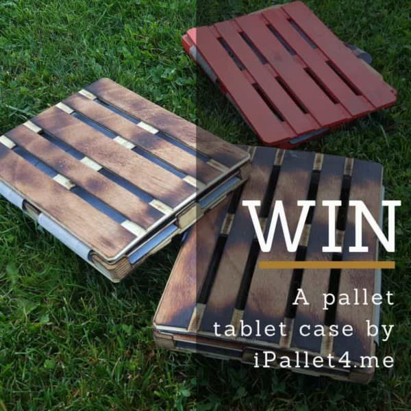 Contest! Win a Modular Pallet Tablet Case by Ipallet4.me Other Pallet Projects