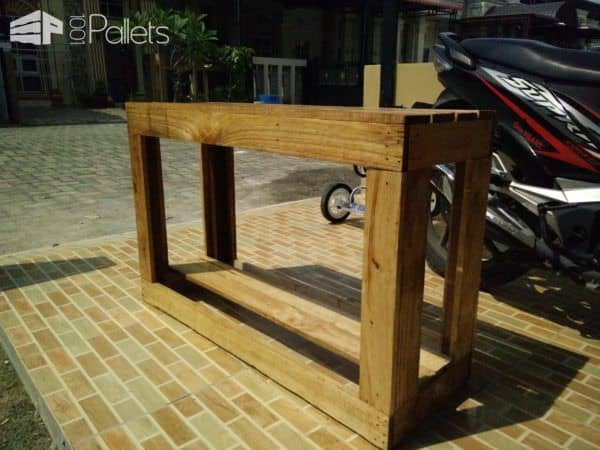 Pallet Bench/Shoe Rack2