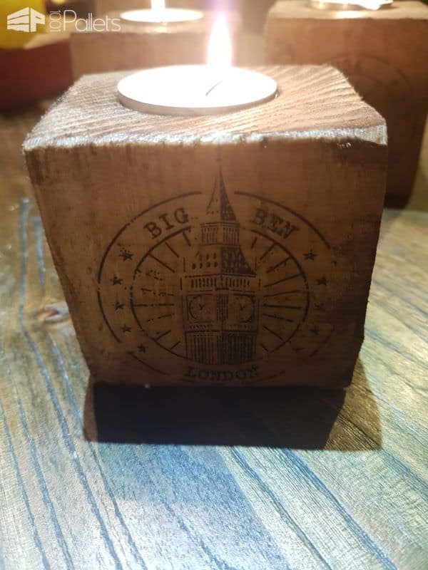 Pallet Block Candle Holders2