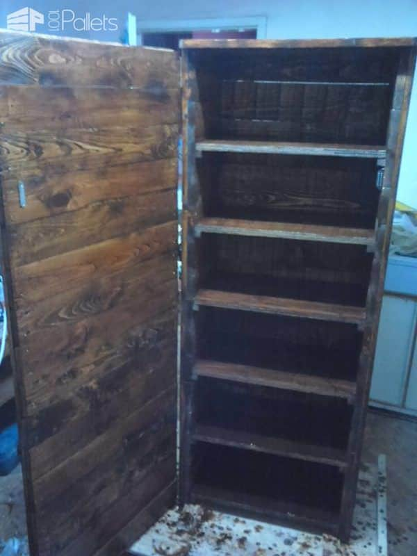 Tall Dark And Handsome Pallet Cabinet2