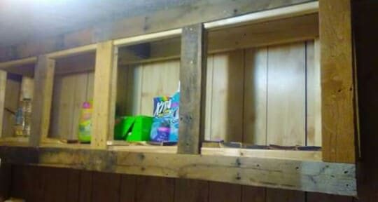 Pallet Laundry Room Cabinets2