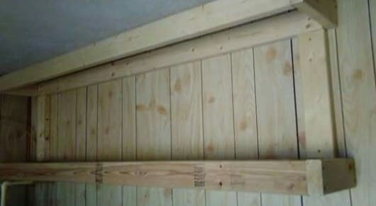 Pallet Laundry Room Cabinets