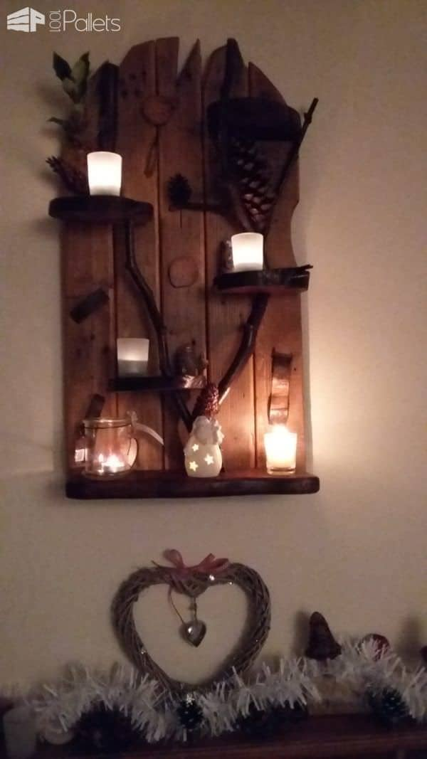 Pallet Tealight Holders1