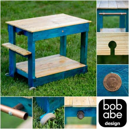 Elementary School Classroom Pallet Potting Bench