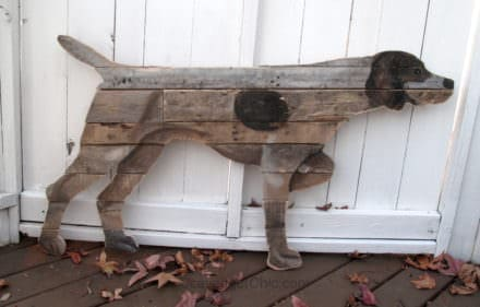 German Short Haired Pointer Pallet Wall Art