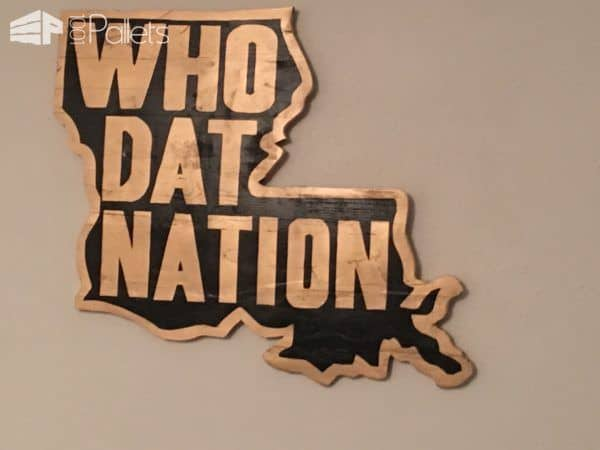 Who Dat Nation Pallet Wall Art2