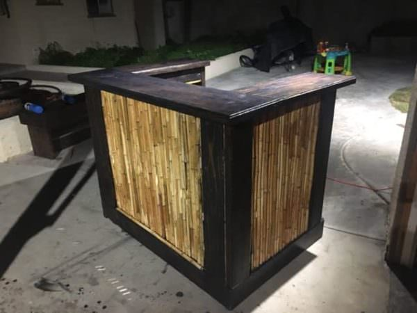 Must See Bar Inspiration  Many Reclaimed Pallet Wood Bars DIY 1001