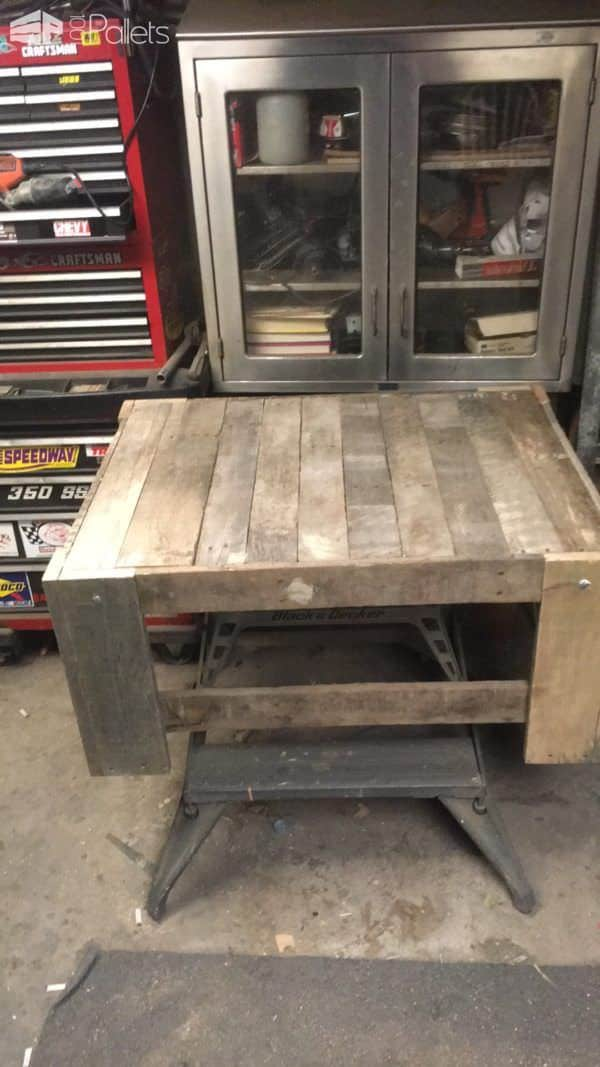 Rough-finished Chunky Pallet Coffee Table Pallet Coffee Tables